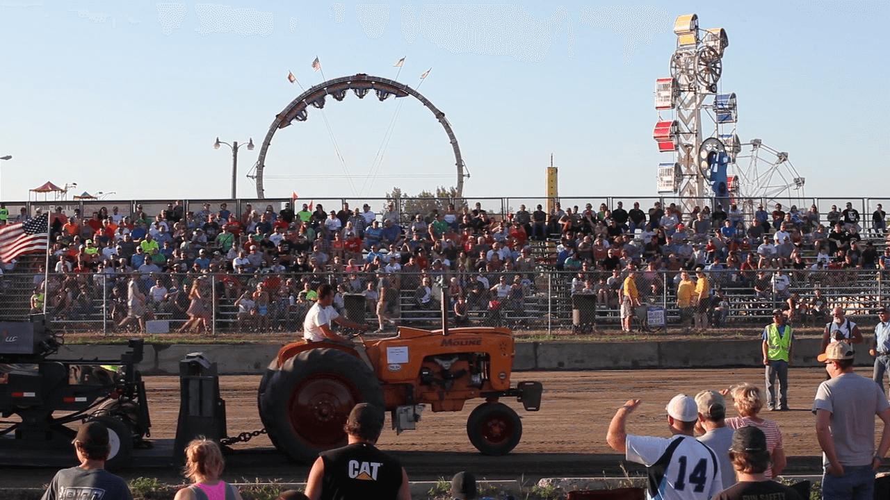 Tractor Pull - Scott County Fair